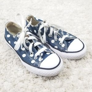 Chuck Taylor Converse Polka Dot Sneakers Size 13